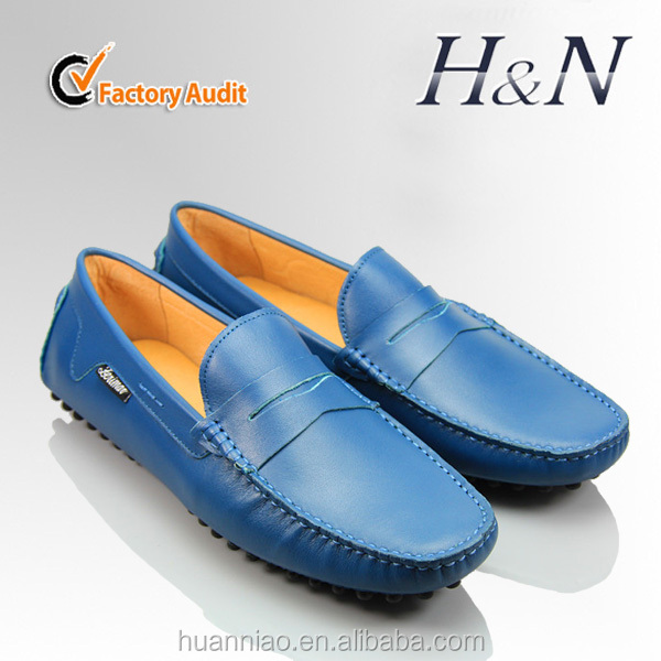 Manufacturer leather driving shoes