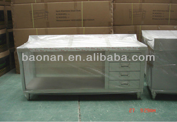 Stainless Steel Counter Table For Kitchen BN-C09