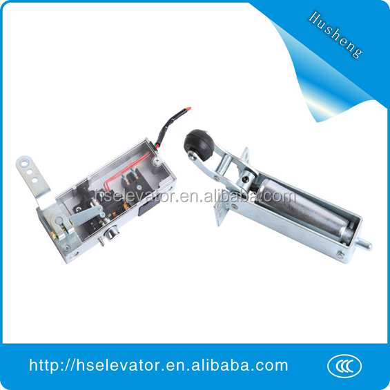 elevator swing door, elevator door closer