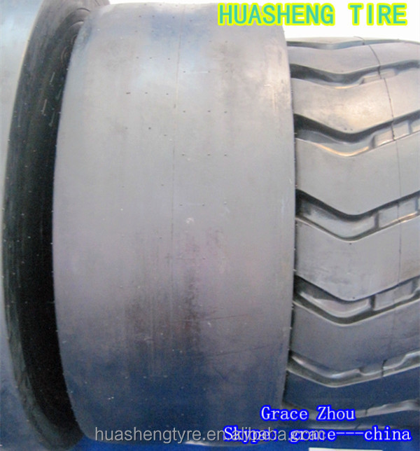 Smooth pattern Tire 16/70-20 for road roller