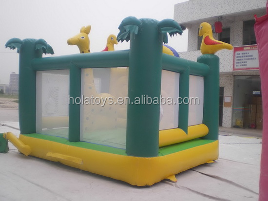 Monkey fun inflatable castle/inflatable bouncer for kids