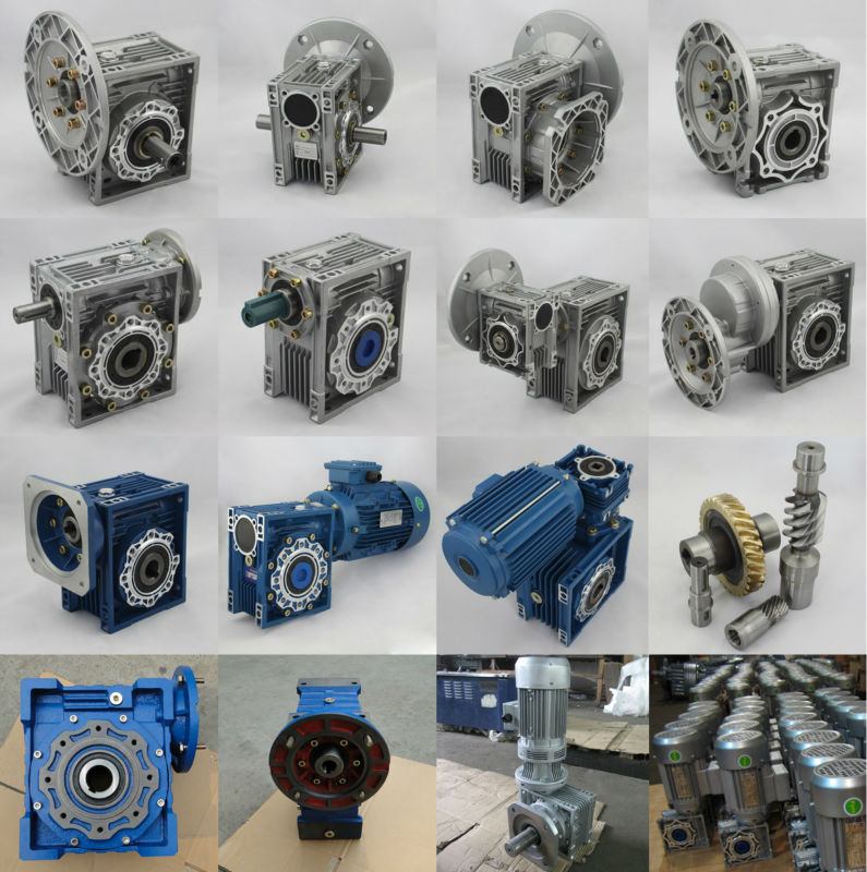 Wj (RV)series high quality hollow shaft worm gearbox