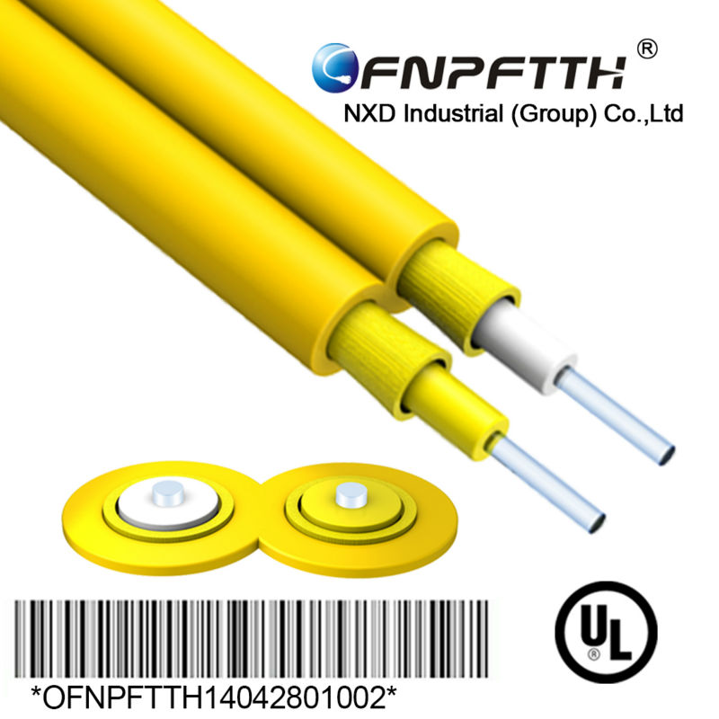 Multimode 50/125um OM2 duplex fiber optic cable