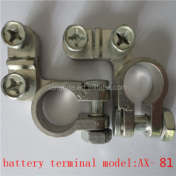 die cast battery terminals/China car battery charger