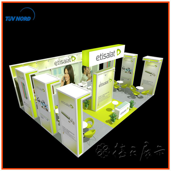 Exhibition Booth Fabrication : International food exhibition fair show booth stand