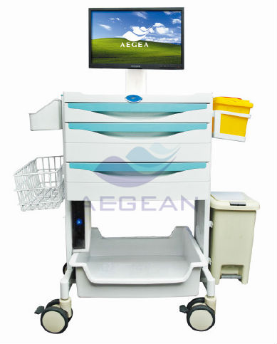 workstation trolley cart