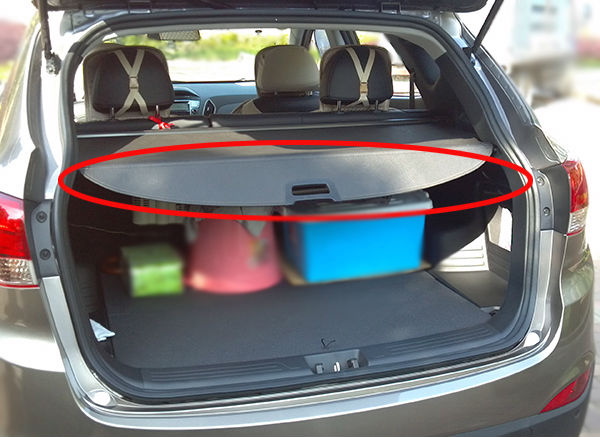 2010-2013 For Hyundai Tucson IX35 Rear Cargo Cover Trunk Shade Security Cover 2013 Egypt IX35 Car Accessories