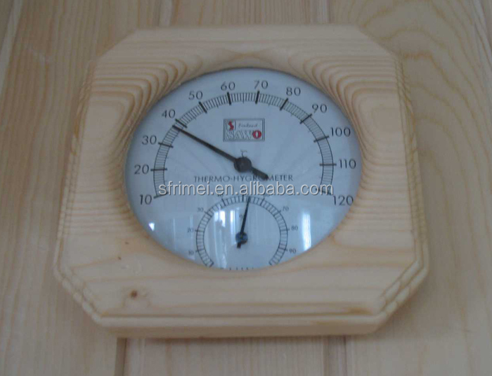 6-10 Persons Use Solid Wood Light Wave Room Dry Sauna Room Infrared Saunas Wholesale K-7131