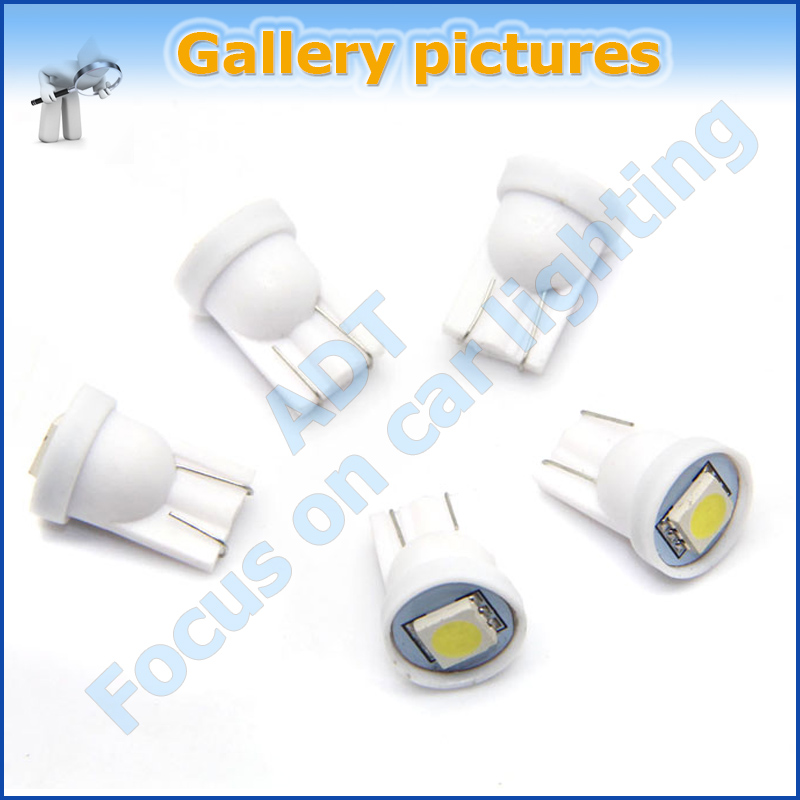 2014 new product AC 6.3V pinball led bulb, non ghosting T10 w5w #555 led bulb for pinball