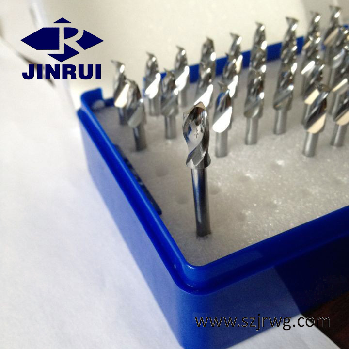 JR128 3.2mm -6.6mm solid tungsten carbide pcb drill bits