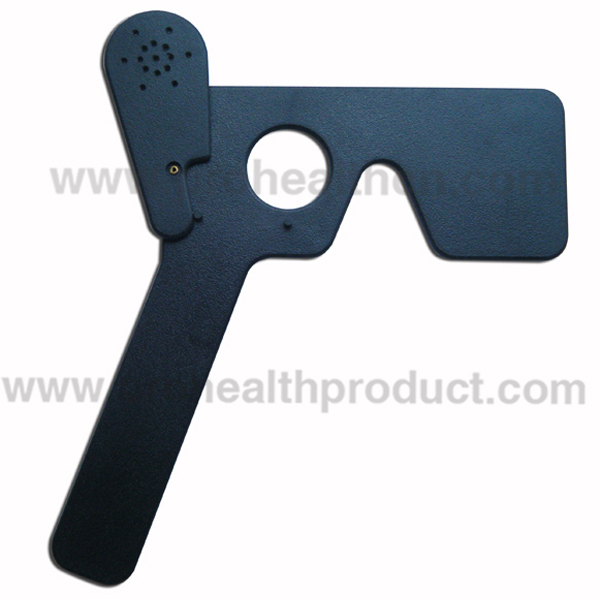 Plastic Medical Measurement Body Fat Caliper With Measuring Tape