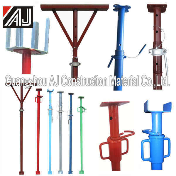 2018 Brand New Heavy Duty Construction Scaffold Formwork Adjustable Steel Prop for Sale