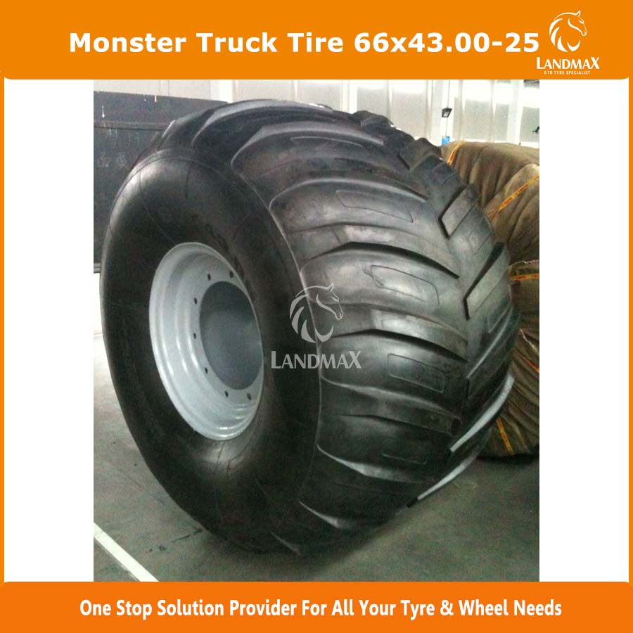 US Market Popular Tire New monster truck tire 66x43.00-25