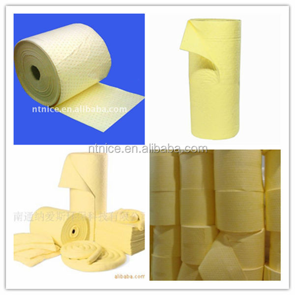 Needle-punched Hazchem Chemical Absorbent Roll