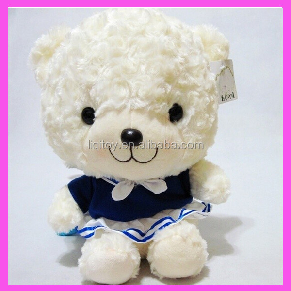 2014 new style graduated plush teddy bear for students