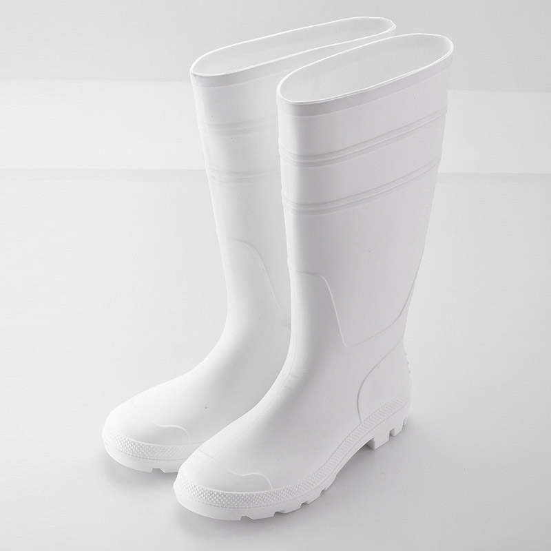 white pvc boots plastic boots for pvc work shoes w