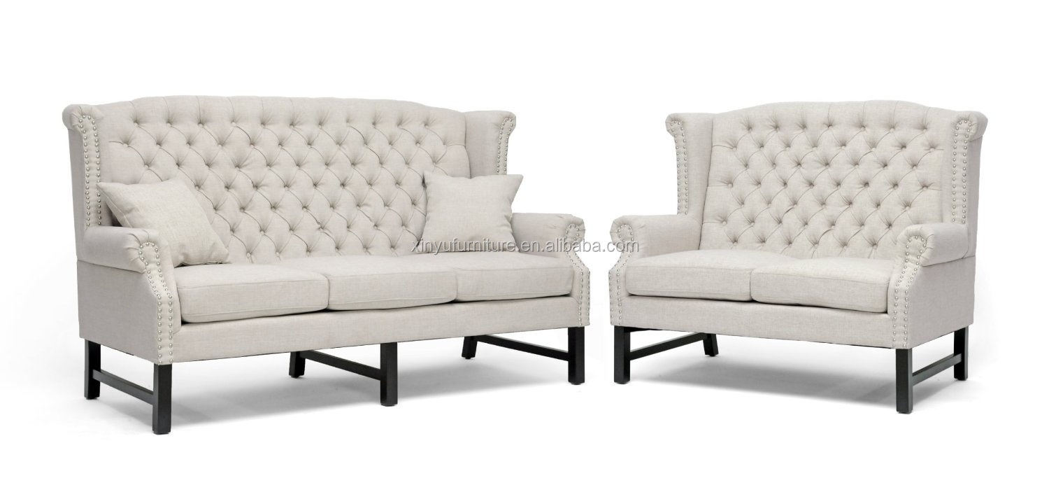 High Quality White Fabric Loveseat Sofa For Wedding Furniture Xy0381 Buy White Sofa