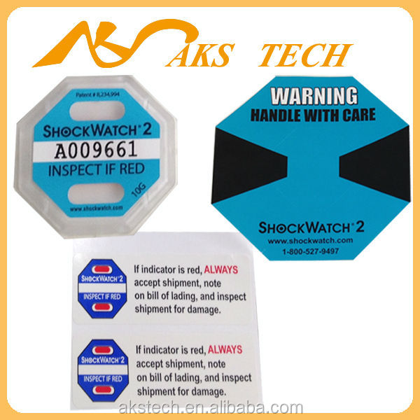 impact sticker Shockwatch 2 (new model 5G-75G)