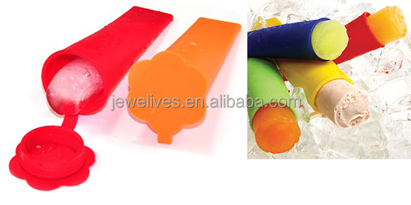 Hot sale easy removing silicone ice cream cone mold