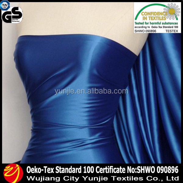 100% silk satin fabric for drsee cloth