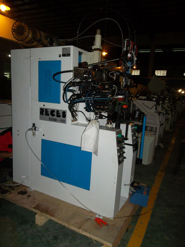 heel and side lasting machine
