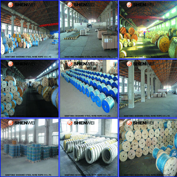 35X7 wire rope, View 35X7 wire rope, SHENWEI Product Details from ...