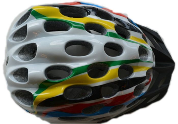 lightweight race Kids helmet for safety, Young Time trial biking helmet with visor