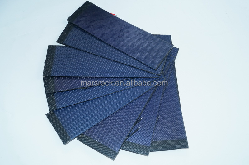2V 440mA 150x50mm flexible solar panel, waterproof solar panel, light solar panel, for special dsign