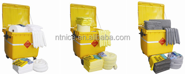 Spill control oil emergency spill kits