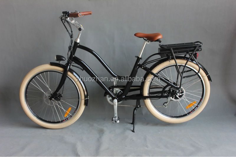 B35 electric bike beach style 36V 350w Lithium battery