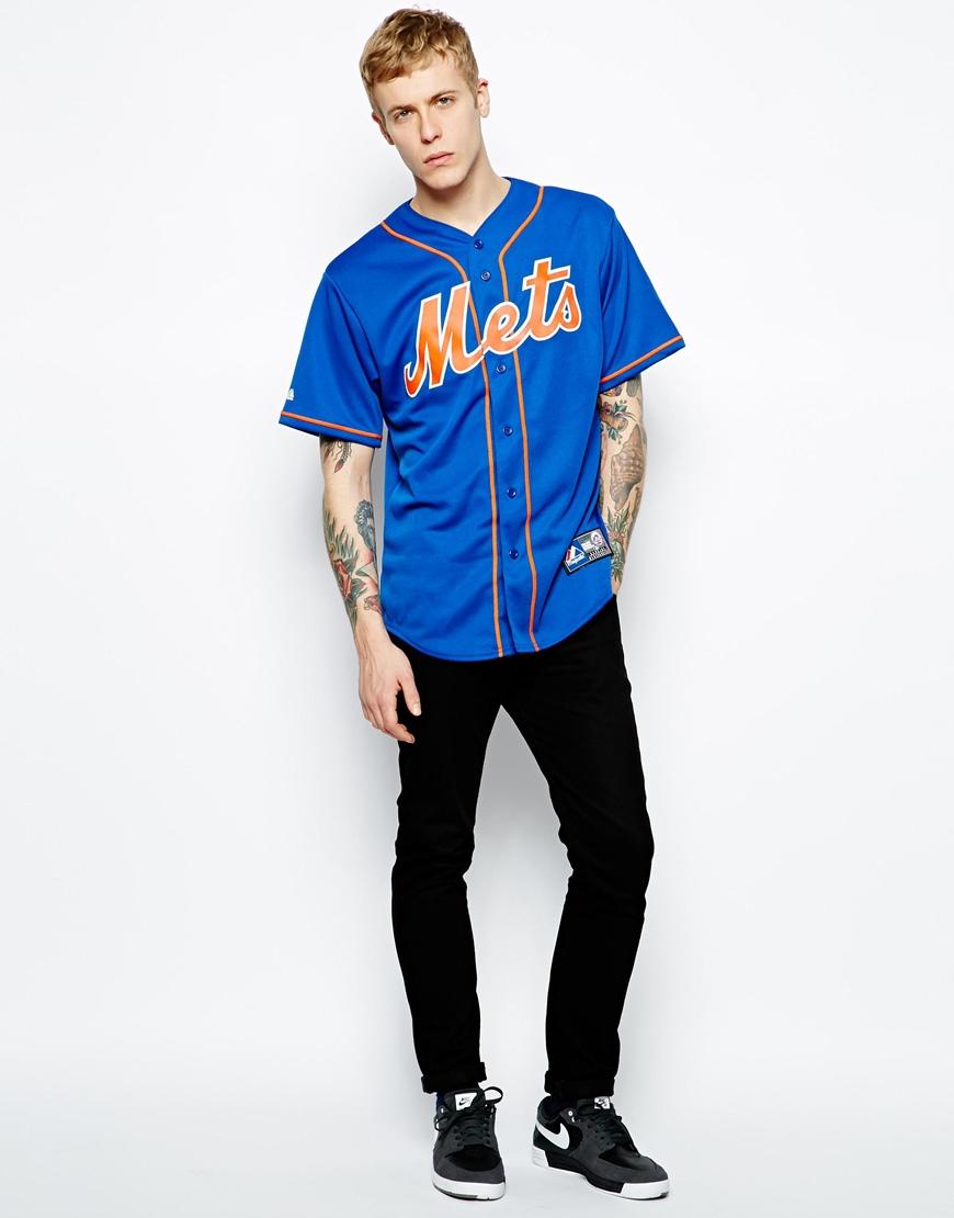 Cheap New York Mets Alternate Baseball Jersey Dry Fit