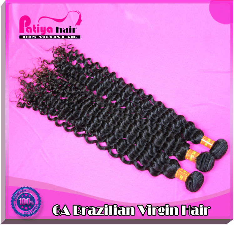 Top quality virgin Brazilian hair bundles in stock online shopping site