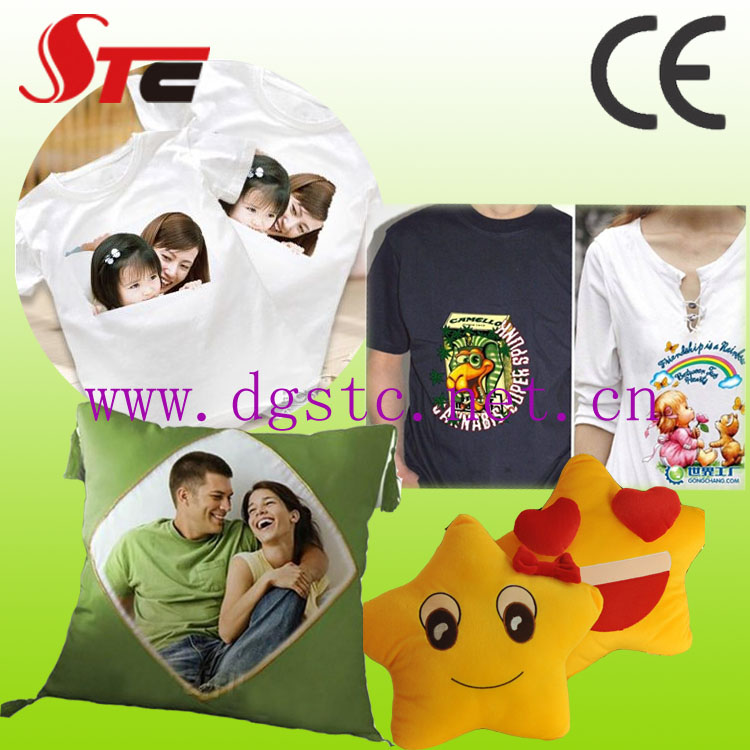 Sample shaking head heat press machine t shirt heat press printing machine