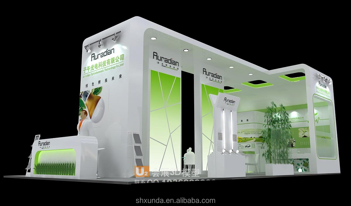 Simple Exhibition Stands : Elegant fair booth view xunda product