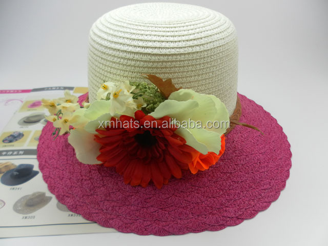 summer paper straw hats for women