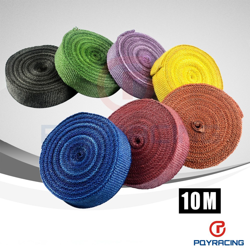 "2"" *10meter Thermal Wrap,exhaust insulating warp,header warp ,exhaust pipe warp+ 4 pcs Ties"