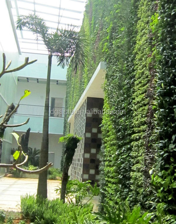 2016 Compound Wall Design Outdoor Green Plants Future