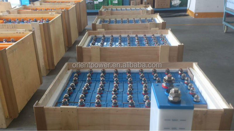40Ah nickel batteries 1.2v solar battery 1.2V 1100Ah