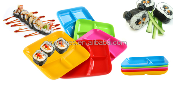 bamboo tray with silicone collapsible bowl