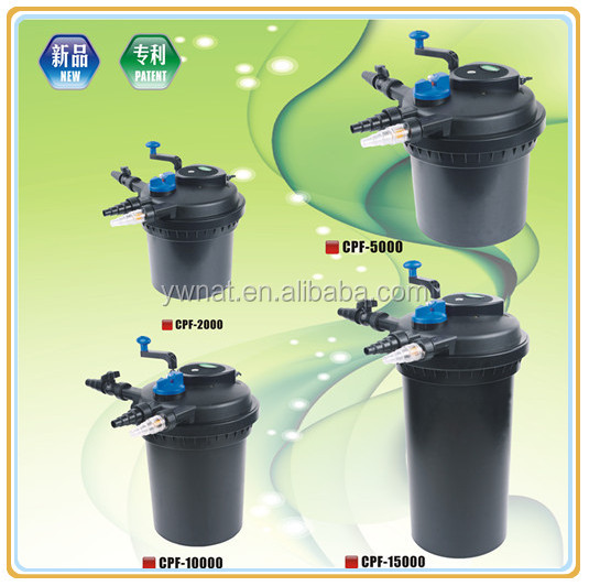 The newest design koi pond filter pond bio press filter for Koi pond filter design