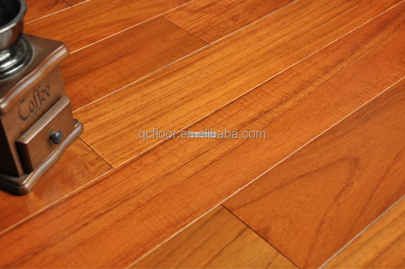 Indonesia solid teak wood flooring prefinished