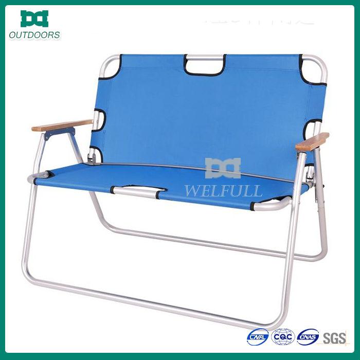 Luxury Double Seat Folding Aluminium Garden Chair Buy Garden Chair Aluminiu