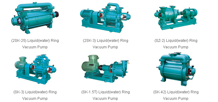 YonJou Brand water liquid ring vacuum pump, circulating water vacuum pump