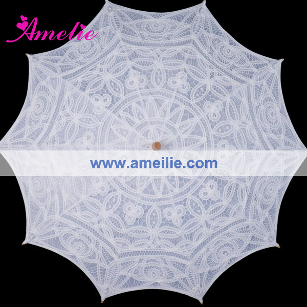 A0121 New style adult cotton lace umbrella