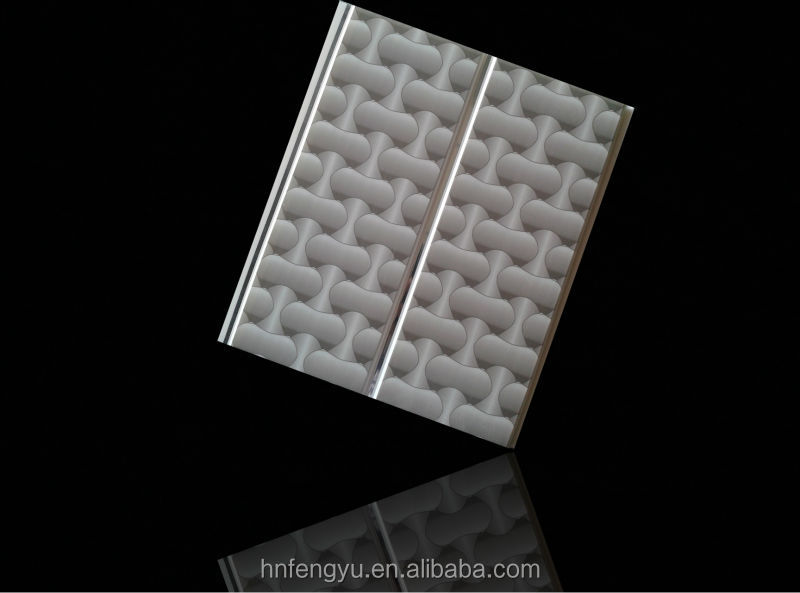 2014 waterproof pvc artistic ceiling with groove & pvc ceiling panel for bathroom