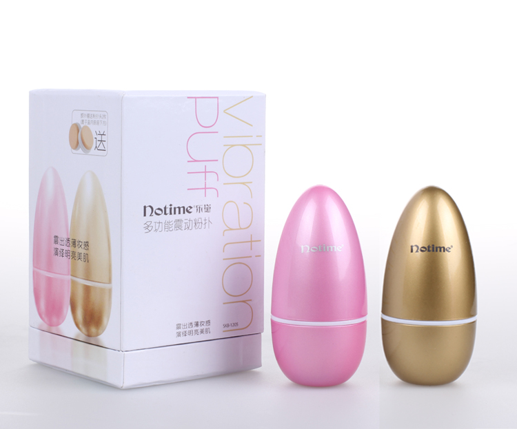 siken3d long handle powder puff massage puff for make up