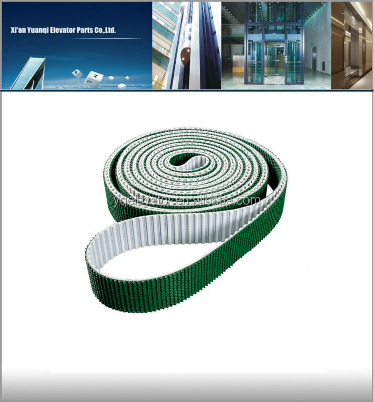 elevator steel wire timing belt STD8M escalator lift belt