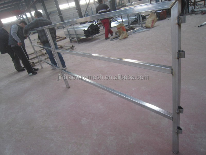 Hot dip galvanized Cattle Panel Fence Design