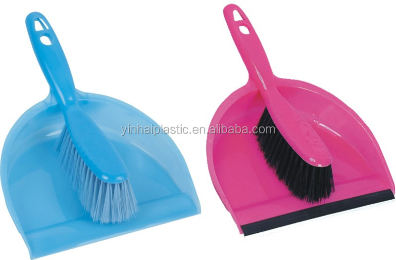 plastic raw material new design sweeping brush and dustpan/cleaning brush /dust brush