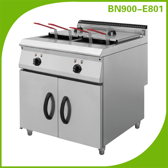 Commercial kitchen equipment/catering equipment/ electric deep fryer with cabinet